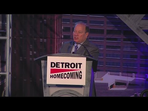 Mayor Mike Duggan at Detroit Homecoming
