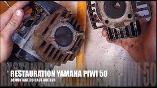 #8 - RESTAURATION PIWI : DEMONTAGE HAUT MOTEUR