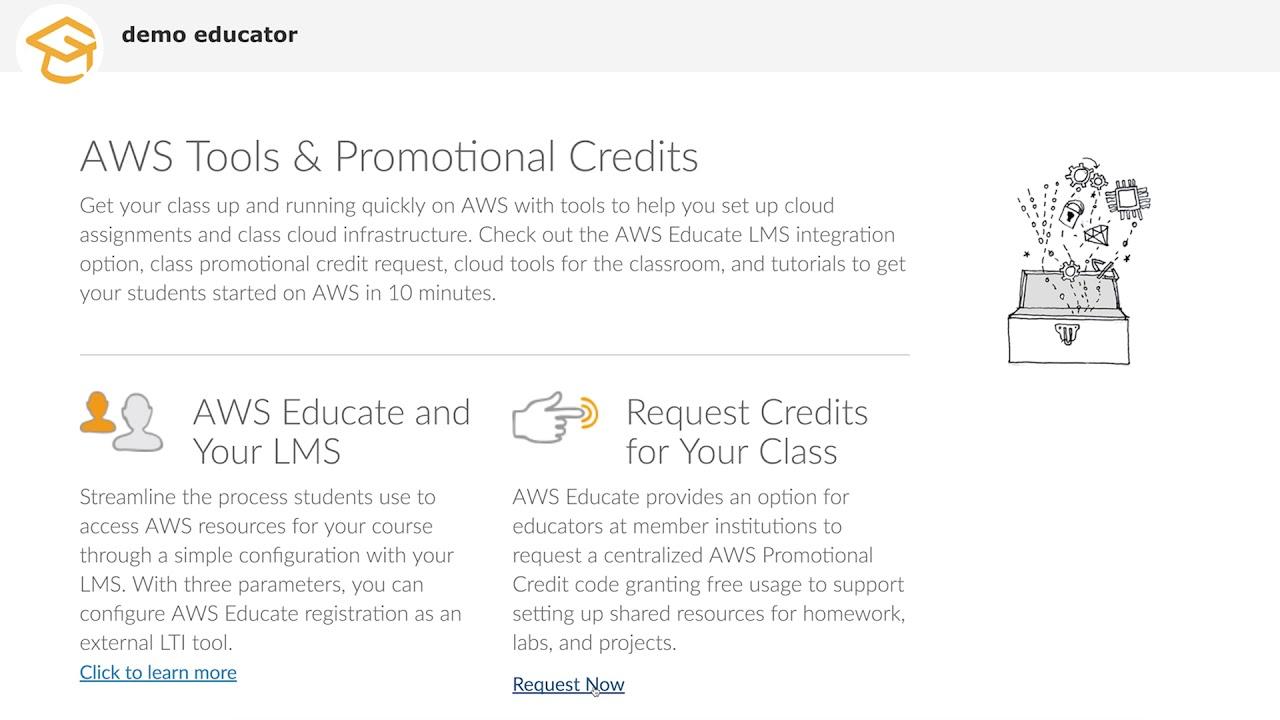 The AWS Educate Educator Portal