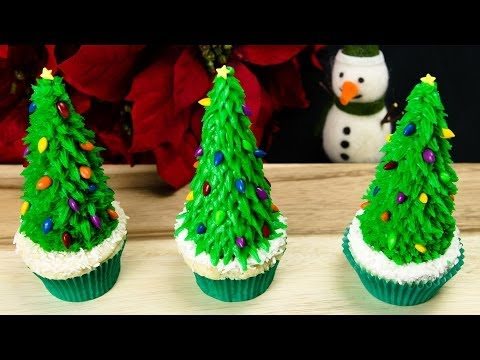Christmas Tree Cupcakes Christmas Cupcakes From Co Es Cupcakes And Cardio