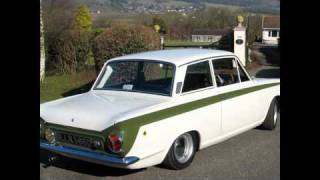 Listen to a 1966 Ford Lotus Cortina Mk1 (LLR586D)