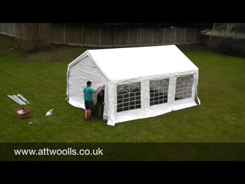 Party Tent (Industrial) Pitching & Packing Video