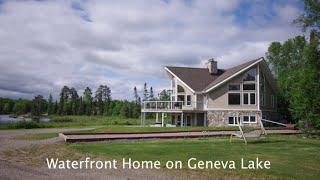 Custom Waterfront Home On Geneva Lake - Cartier, On Near Sudbury