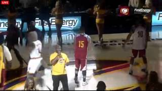 cleveland cavaliers first players introduction lebron james is back crowd goes crazy