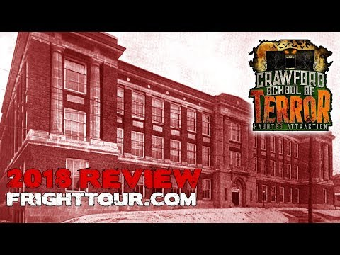 Crawford School of Terror Review 2018 FrightTour Connellsville Pennsylvania
