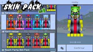 Mcpe Skin Packs - Skin para minecraft pe fuego