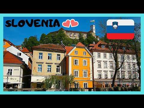 SLOVENIA: The beautiful capital of LJUBLJANA, what to see in ONE DAY