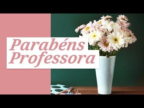 Parabéns E Felicidades, Professora