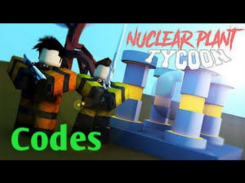 roblox nuclear power plant tycoon codes