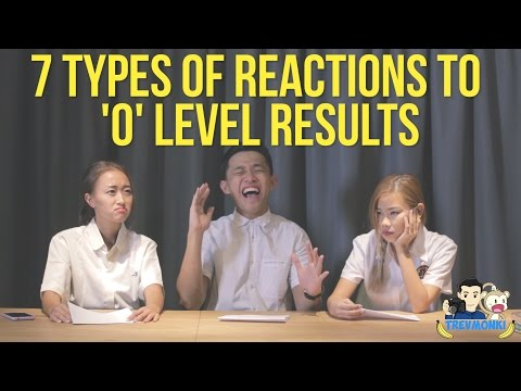 7 Types of Reactions to 'O' Level Results