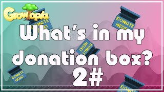 what s in my donation box   growtopia