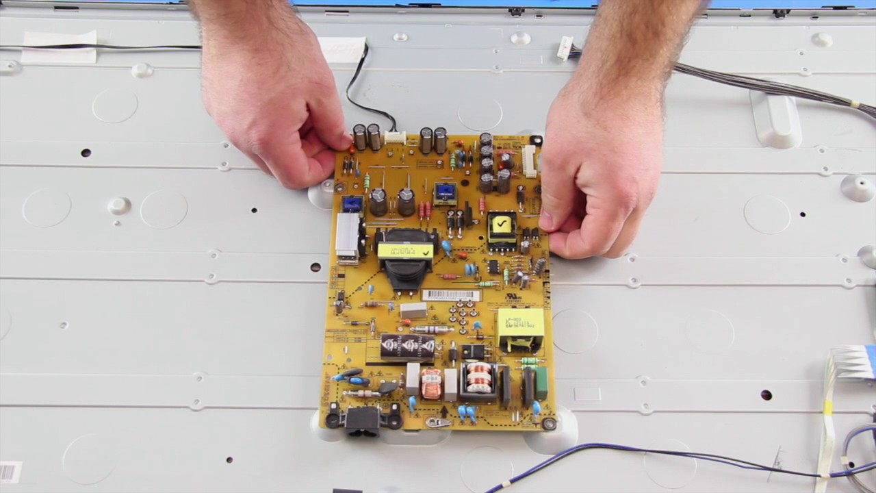 lg eay62810801 tutorial for power supply board replacement [ 1280 x 720 Pixel ]