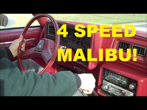 Malibu 4 Speed Road Test Classic G-Body Garage