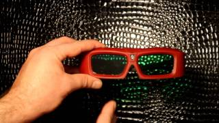 Xpand DLP Link 3D Shutter / Flicker Glasses