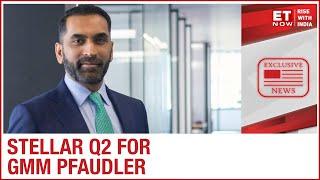Sharp margin expansion in Q2 | Tarak Patel Of GMM Pfaudler To ET Now