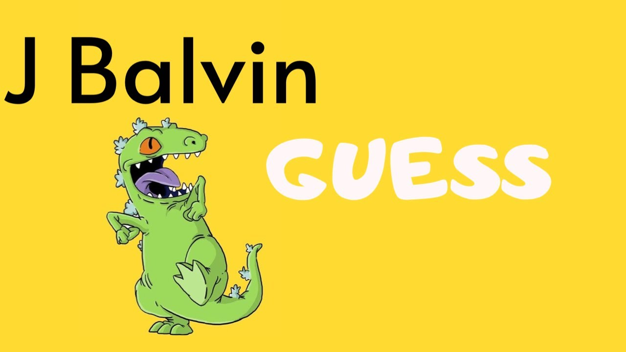 J BALVIN AMARILLO COLORES | GUESS PACK 2020 - YouTube