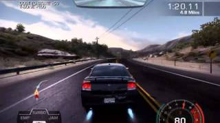 NFS Hot Pursuit 2010 Spike Strip Race Gameplay PC (HD)