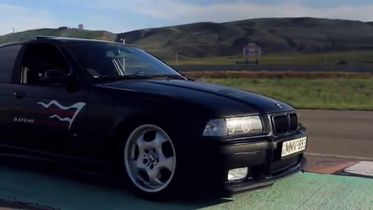 Bmw M3 E36 4 Door Drift ვახო ხურციძე Youtube