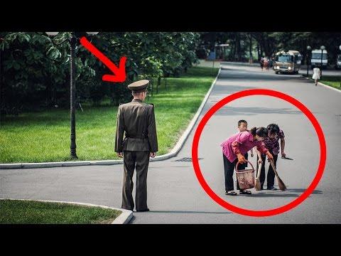 Kuzey Kore'de GİZLİCE Çekilmiş 25 YASAKLI FOTOĞRAF