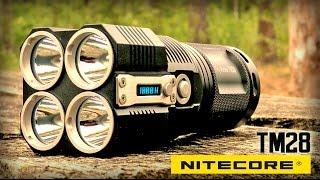 Самый мощный фонарик в мире Nitecore TM28