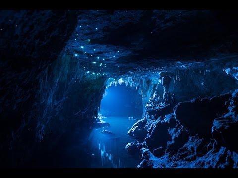 Cueva de las Larvas Luminosas. Waitomo - NUEVA ZELANDA!!