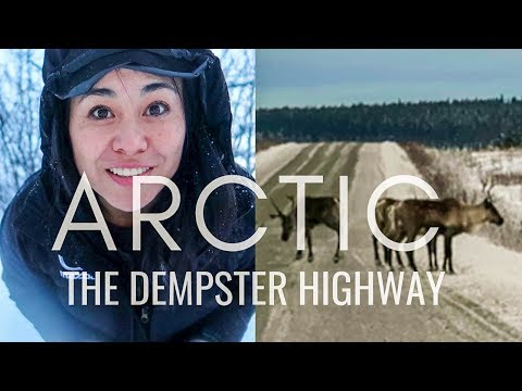 FAMOUS ROADS To The ARCTIC OCEAN   Ep2: DEMPSTER HIGHWAY & Dawson City