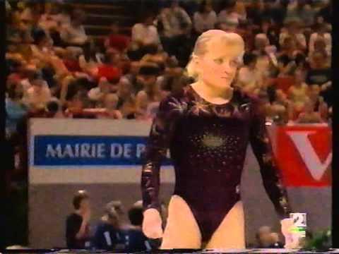 2000 gimnasia artistica europeo Paris   finales por aparatos