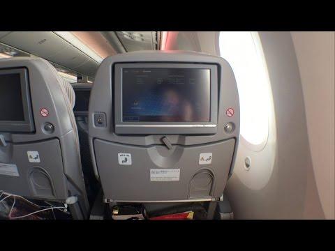 [Quick review] Japan Airlines B787-8 ECONOMY class Hong Kong to Tokyo Narita 日本航空JL736香港から東京成田へ