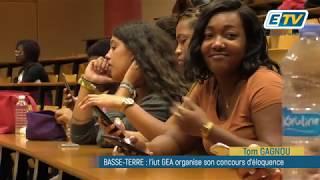BASSE-TERRE : l'iut GEA organise la deuxième édition de son concours d'éloquence