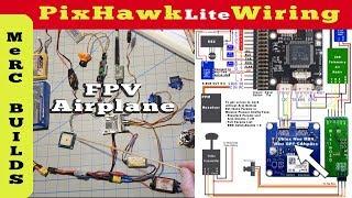 PixHawk Lite RC Airplane Wiring, Pinout & FPV Setup for Ranger 2000