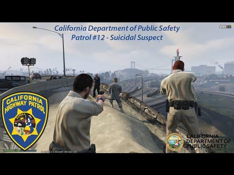 GTA V: CDPS Patrol 12 - Suicidal Suspect!