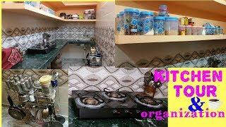 My small indian kitchen tour & organization// small kitchen tour