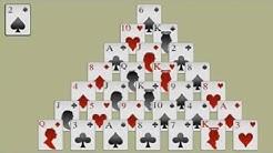 Pyramiden-Patience  - Regeln und Spielanleitung