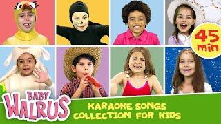 Karaoke Songs Collection for Kids | Zouzounia TV