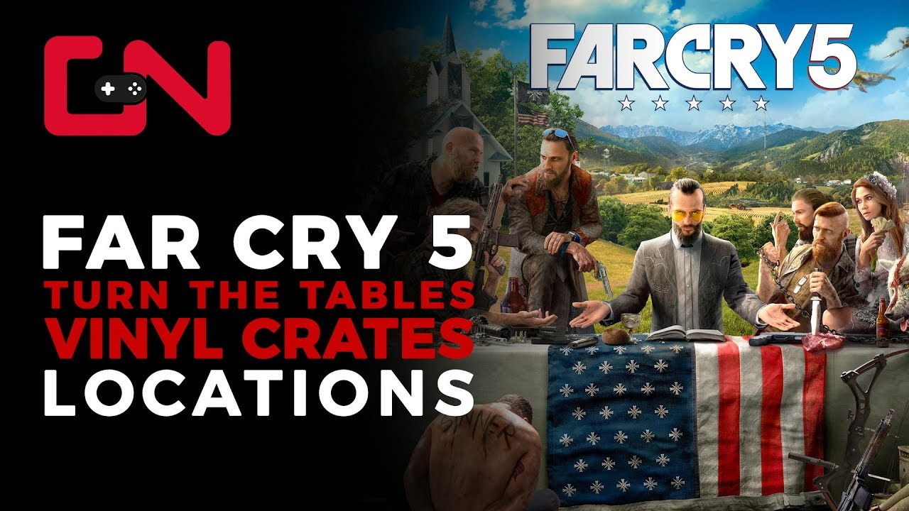 Far Cry 5 Vinyl Crates Locations Turn The Tables Quest Youtube