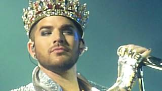 """Queen + Adam Lambert """"We Will Rock You/We Are The Champions"""" St.Paul,Mn 7/14/17 HD"""