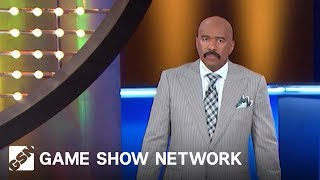 Picking a Fight with a Janitor | Family Feud | Game Show Network