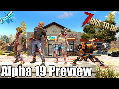 7 Days To Die - Alpha 19 Preview + Giveaway