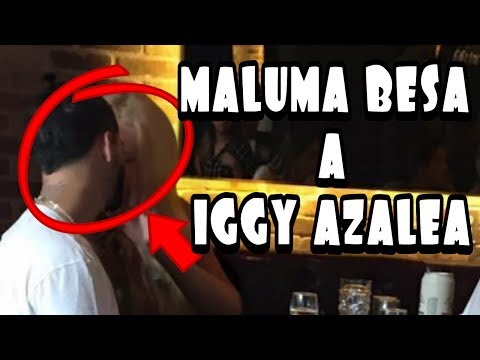MALUMA BESA A IGGY AZALEA EN RESTAURANTE Y ANITTA SE ENOJA thumbnail