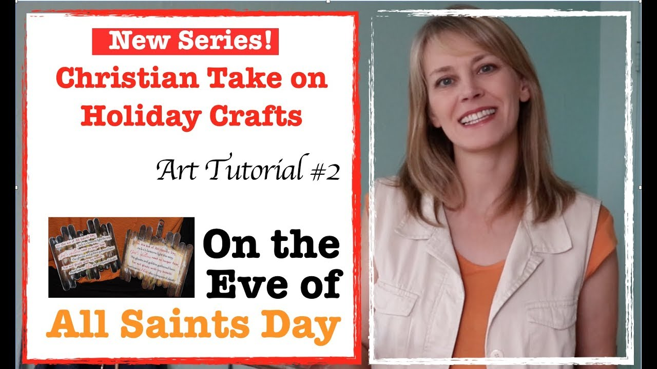 On The Eve Of All Saints Day Halloween Crafts