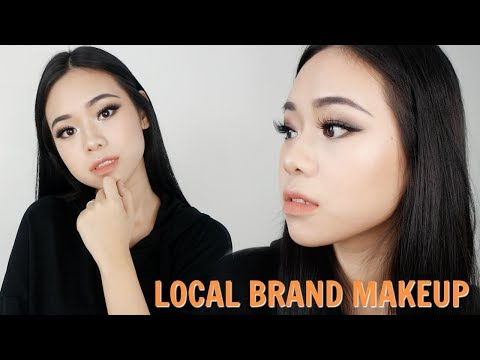 EDGY LOOK | FULL FACE INDONESIAN LOCAL BRAND MAKEUP TUTORIAL