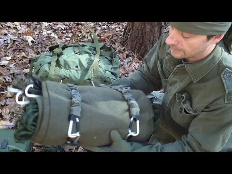 "The ""Tony Bushcraft"" Shelter And A Little Gear Talk"