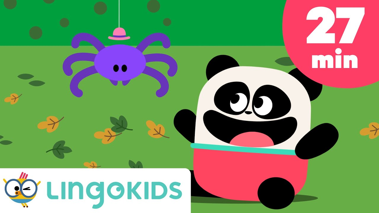 Itsy Bitsy Spider 🕸️🎶 more simple songs for Kids | Lingokids