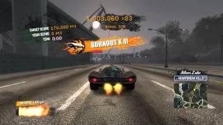 215 million point stunt run