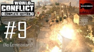 World in Conflict Complete Edition - Campaign Playthrough Part 9 (No commentary, Mission 9)