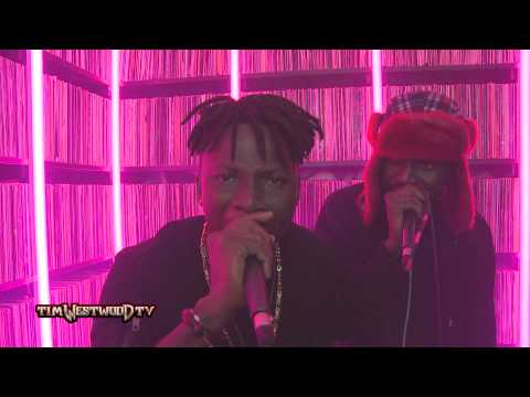 Stonebwoy & Yaa Pono freestyle - Westwood Crib Session
