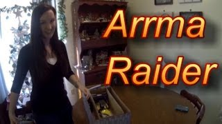 Arrma Raider RTR Unboxing - 1/10th Scale 2WD Electric Buggy
