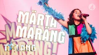 """Märta Maräng charmar juryn  med låten """"All about that bass"""" i Talang 2019 - Talang (TV4)"""