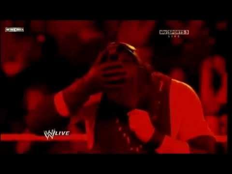 Masked Kane Returns WWE RAW Slammy Awards 2011