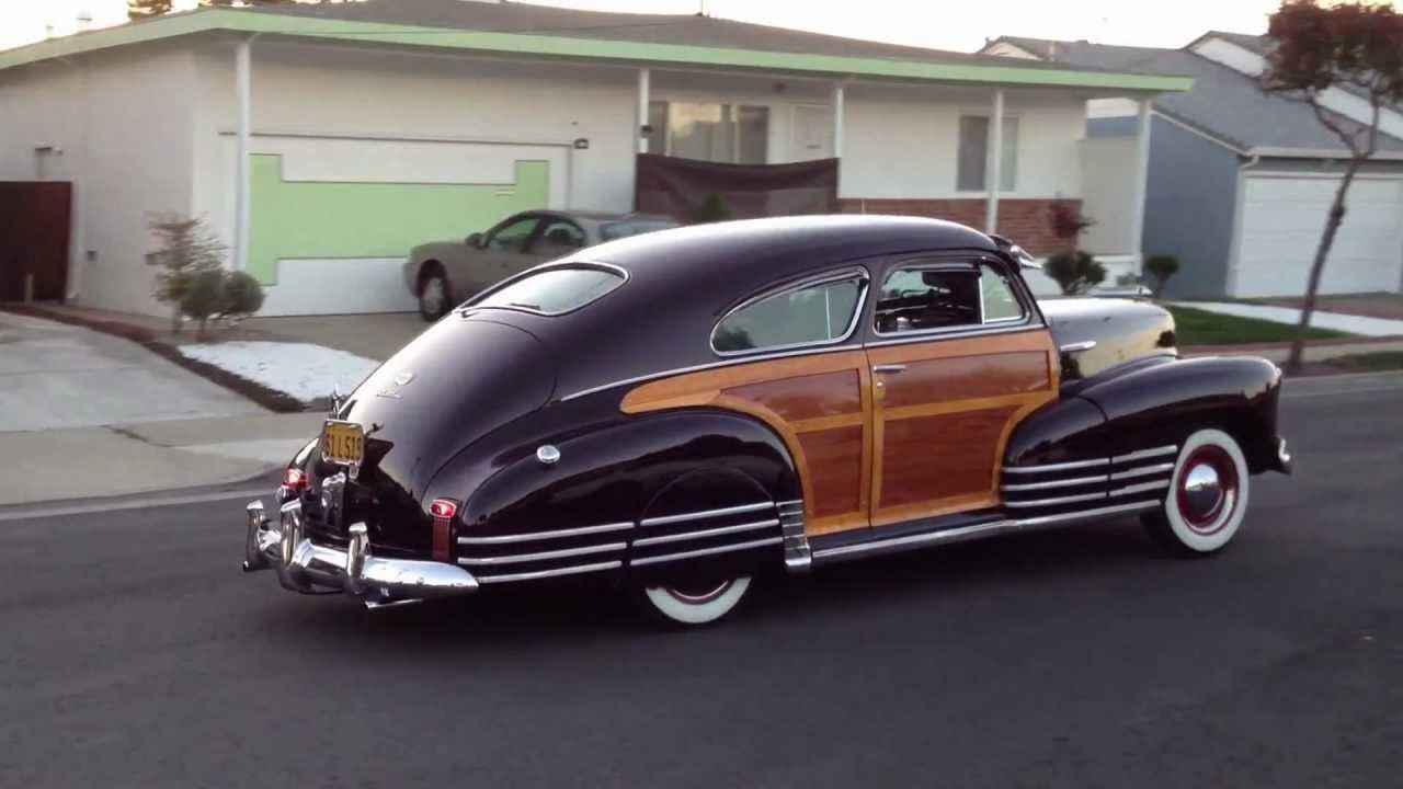1947 Chevrolet Fleetline Aerosedan Country Club Woody